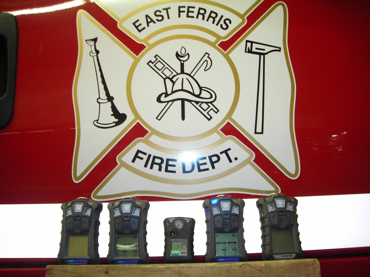 Gas Detectors East Ferris Fire